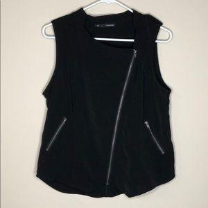 Maurices talk zipper tank top vest jacket size L